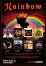 О записи виниловых альбомов Rainbow!