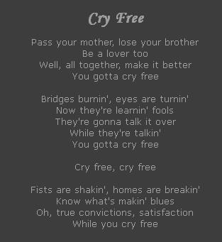 Cry Free