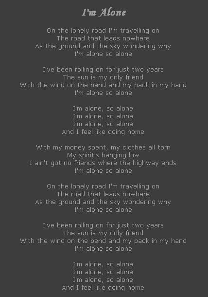 I m Alone