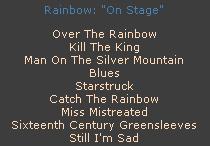Rainbow и эра группы