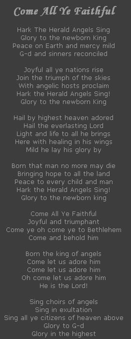 Come All Ye Faithful
